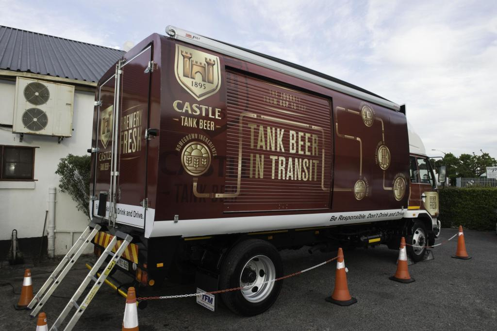 Castle Lager introduces a beer revelation with Tank Beer