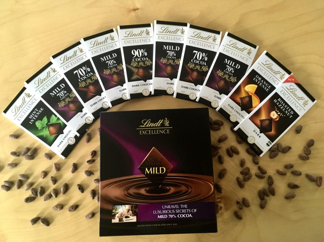 Lindt Excellence Mild 70% Cocoa