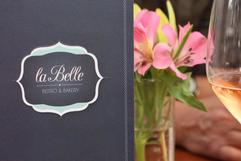 La Belle Bakery & Bistro menu