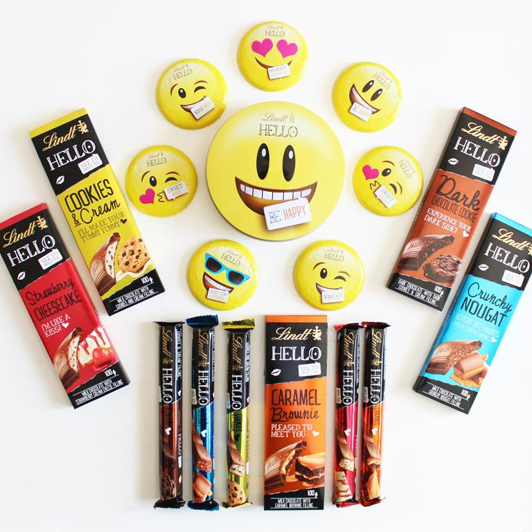 Lindt Hello Emoti Tins and a sweet giveaway!
