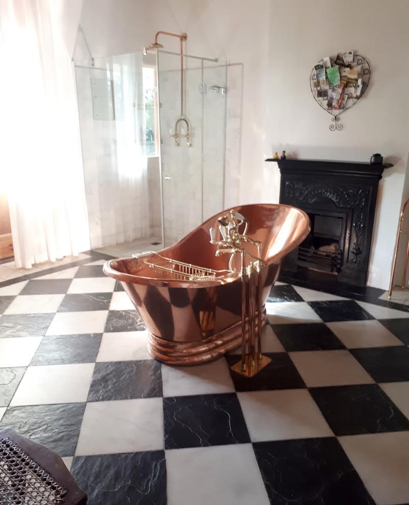 Copper Bath at Riebeek Kasteel