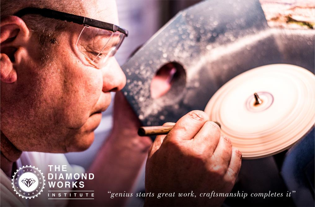 Skilled craftsmanship at The Diamond Works