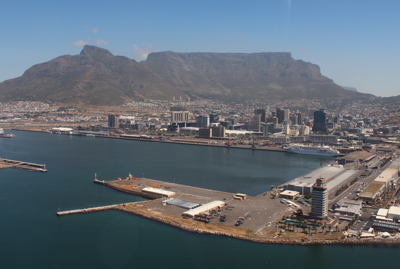 East Pier Waterfront Cape Town Helicopters